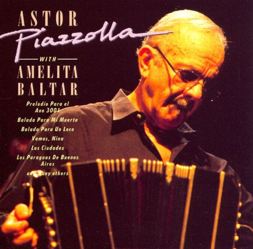 Astor Piazzolla with Amelita Baltar