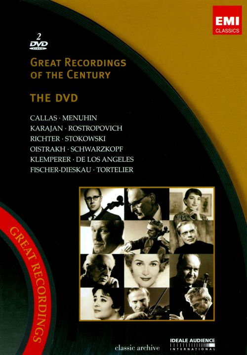 Great Recordings of the Century: The DVD [DVD Video]