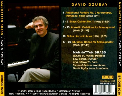 Manhattan Brass plays David Dzubay