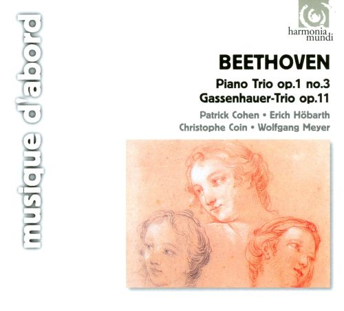 Beethoven: Trio in Bf WoO39; Trio in Bf Op11