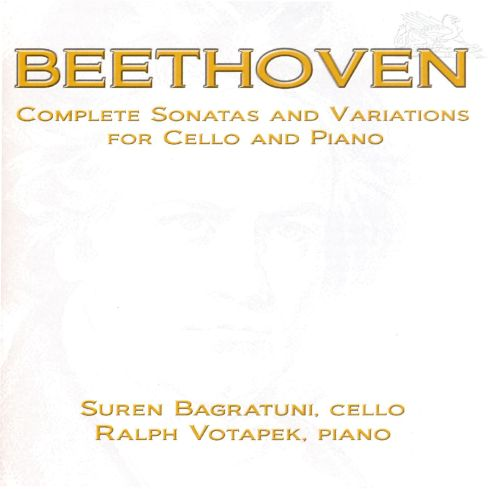 Beethoven: Complete Sonatas and Variations for Cello & Piano