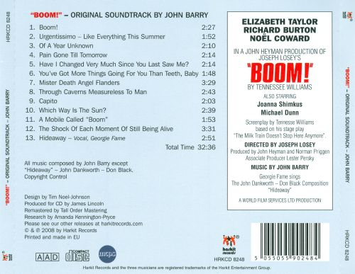 Boom! [Original Soundtrack Score]