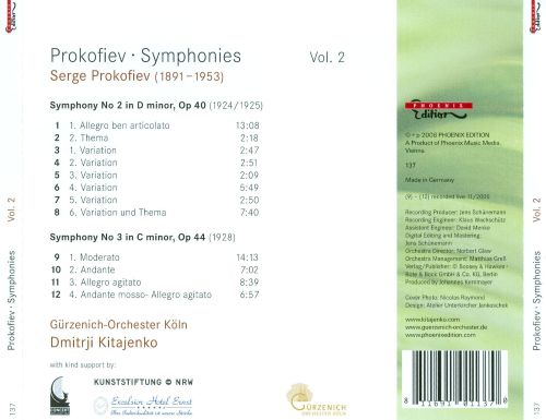 Prokofiev: The Symphonies, Vol. 2