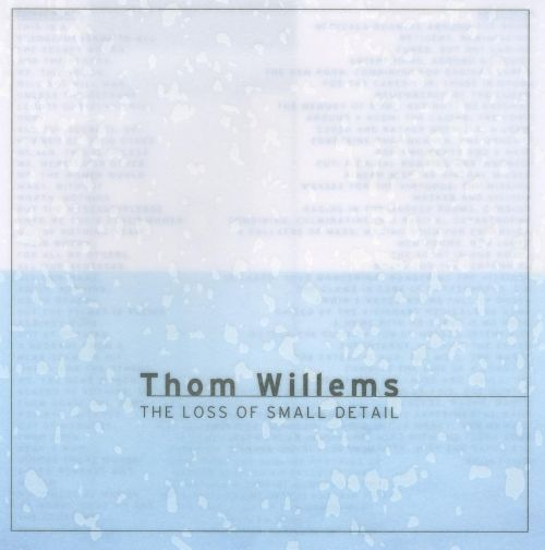 Thom Willems: The Loss of Small Detail