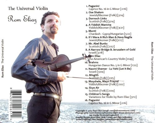 The Universal Violin, Music from Around the World