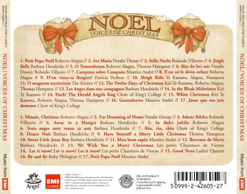 Noel! Voices Of Christmas - Various Artists | Songs, Reviews ...