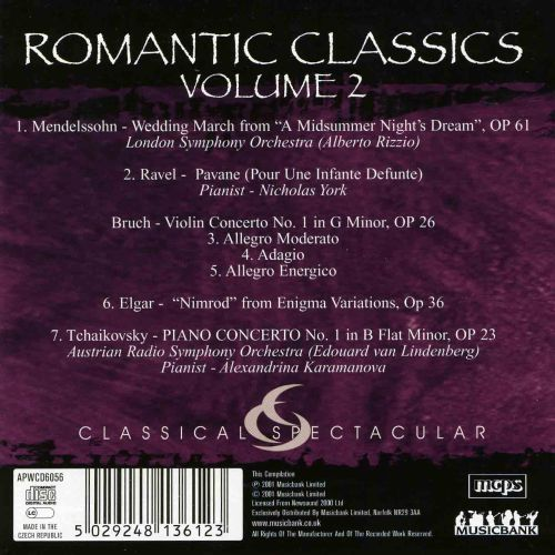 Romantic Classics, Vol. 2