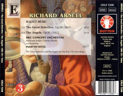 Richard Arnell: The Great Detective; The Angels (Ballet Music)