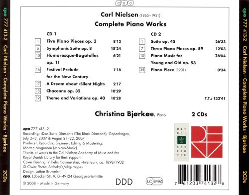 Carl Nielsen: Complete Piano Works