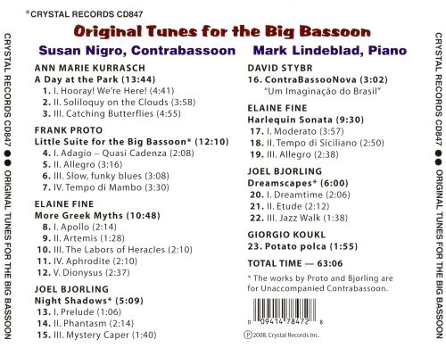 Original Tunes for the Big Bassoon