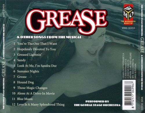 Grease and Other Songs from the Musical