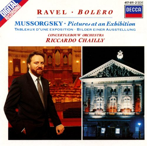 Ravel: Boléro; Mussorgsky: Pictures at an Exhibition