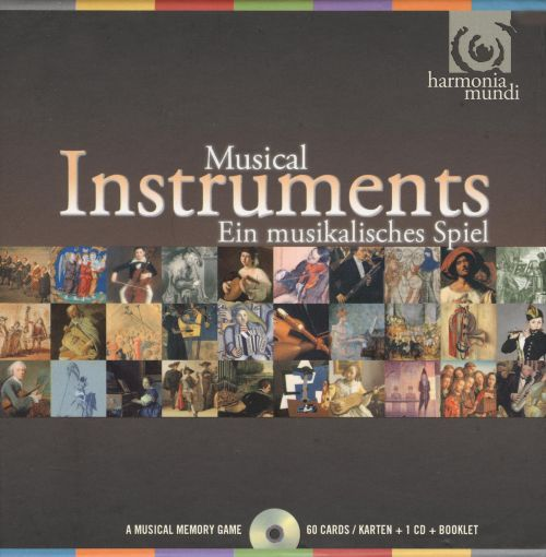 Musical Instruments: A Musical Memory Game