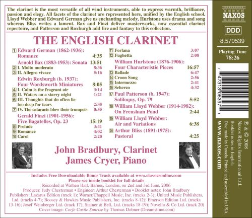 The English Clarinet