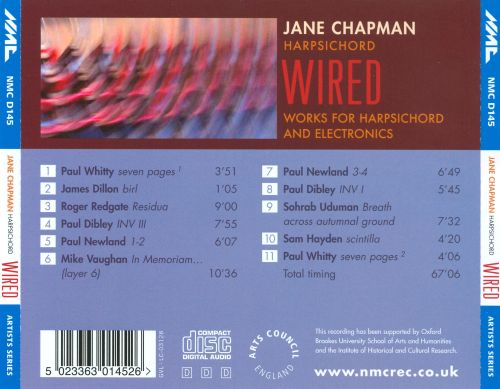Wired: Works for Harpsichord and Electronics