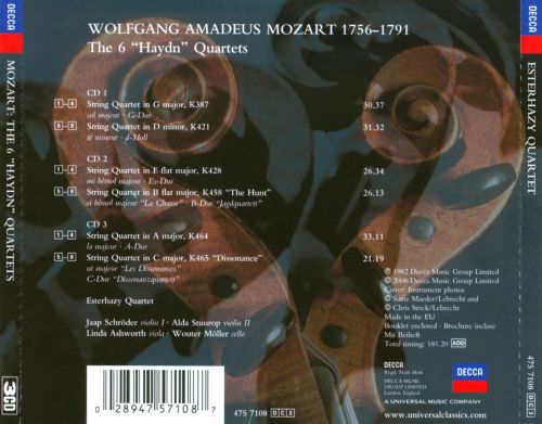 Mozart: The 6 Haydn Quartets