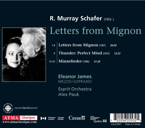 Murray Schafer: Letters from Mignon