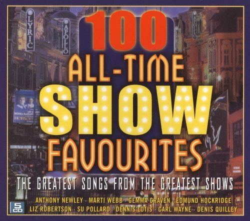 100 All Time Show Favourites