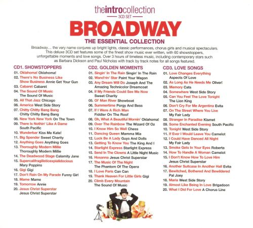 The Intro Collection: Broadway