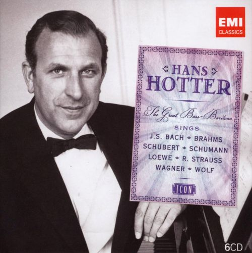 Icon: Hans Hotter, the Great Bass-Baritone
