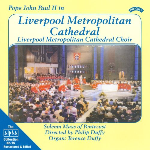 Pope John Paul II in Liverpool Metropolitan Cathedral