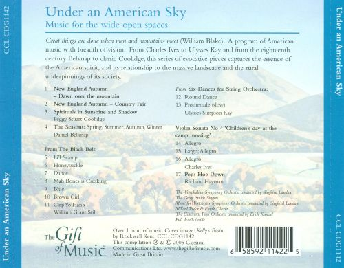 Under an America Sky: Music for the Wide Open Spaces