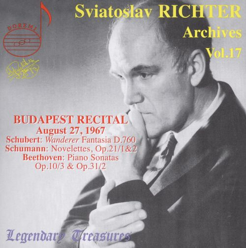 Sviatoslav Richter Archives, Vol. 17: Budapest Recital, 1967