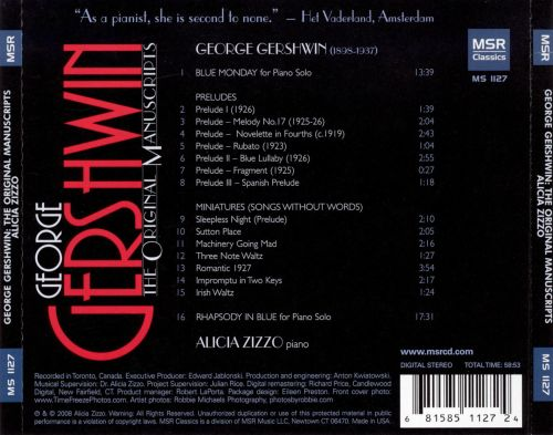 Gershwin: The Original Manuscripts