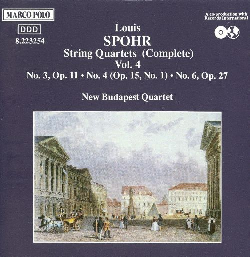 Spohr: Complete String Quartets, Vol. 4