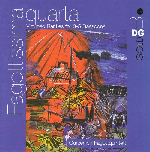 Fagottissima quarta: Virtuoso Rarities for 3-5 Bassoons