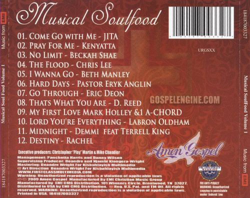 Rejoice! Musical SoulFood, Volume 1