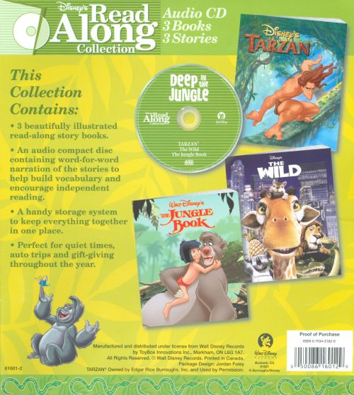 Jungle Collection: Wild/Tarzan/Jungle Book