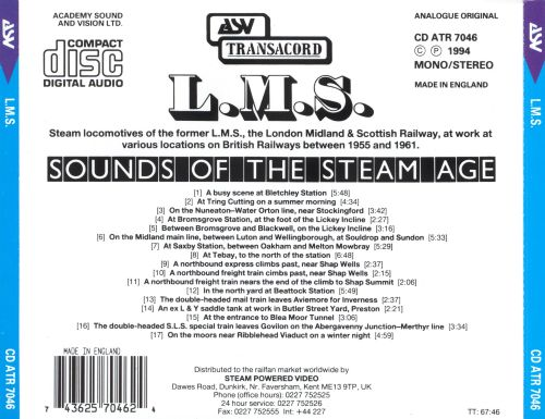 Sounds of the Steam Age: L.M.S.