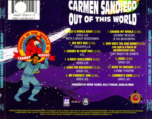 Carmen Sandiego: Out of This World