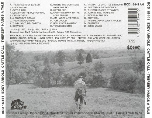 Cattle Callthereby Hangs A Tale Eddy Arnold Songs Reviews
