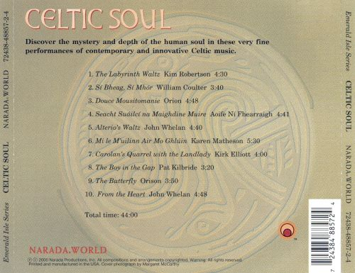Celtic Soul [Narada] - Various Artists | Songs, Reviews ...