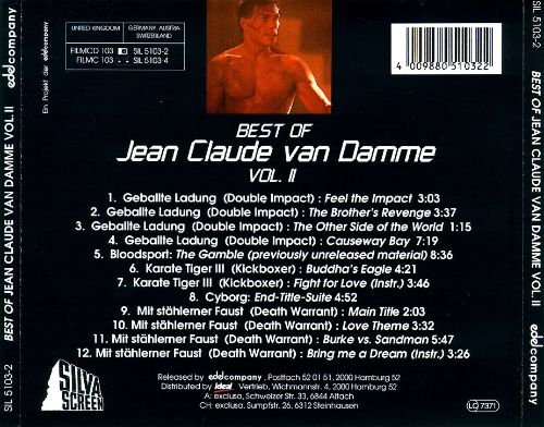 Music from the Films of Jean-Claude Van Damme, Vol. 2