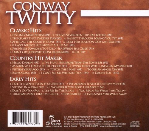 Conway Twitty [Direct Source 3 CD]