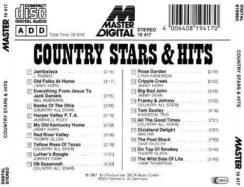 Country Stars & Hits