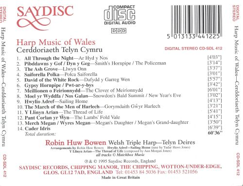 Harp Music of Wales