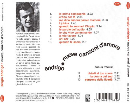 Nuove Canzoni d'Amore