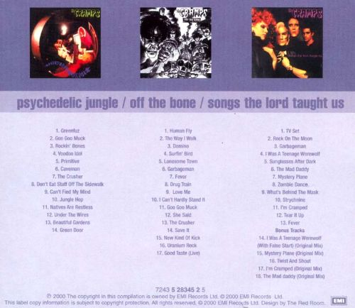 Psychedelic Jungle/Off the Bone/Songs the Lord Taught Us