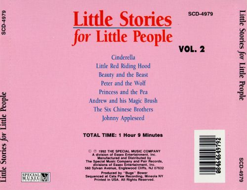 Little Stories for Little People, Volume 2