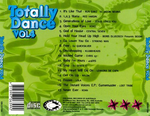 Totally Dance, Vol. 4
