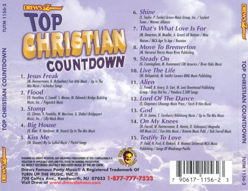 Drew's Famous Top Christian Countdown