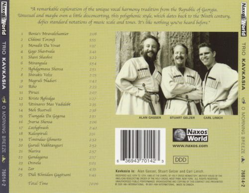 O Morning Breeze: Traditional Songs from Georgia