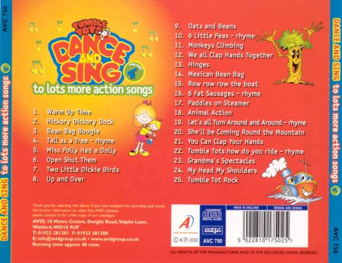 Tumble Tots: Dance and Sing, Vol. 4