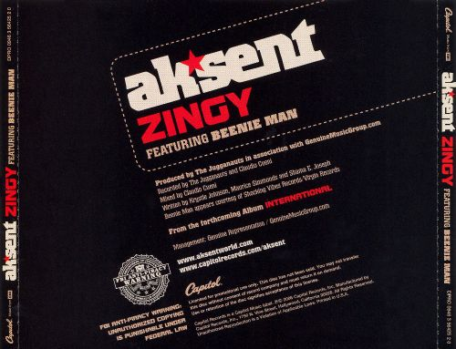 Zingy Featuring Beenie Man