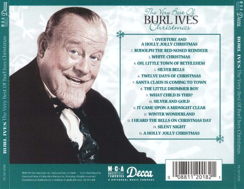 The Very Best of Burl Ives Christmas - Burl Ives | Songs, Reviews ...
