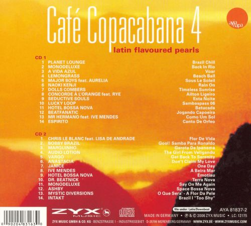 Cafe Copacabana, Vol. 4